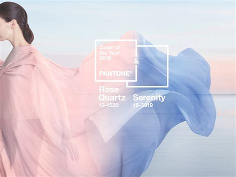 pantone colour of the year pantone colour of the year 2016 serenity and quartz the luxpad