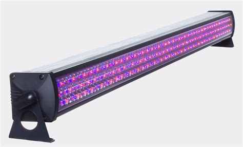led light bar 8 lightmaxx led bar 8 sector 8x rgb sektoren 240x10mm led