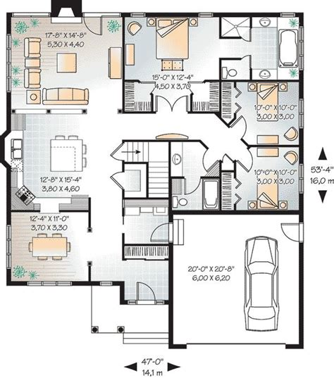 bungalow floor plan 25 best bungalow house plans ideas on pinterest