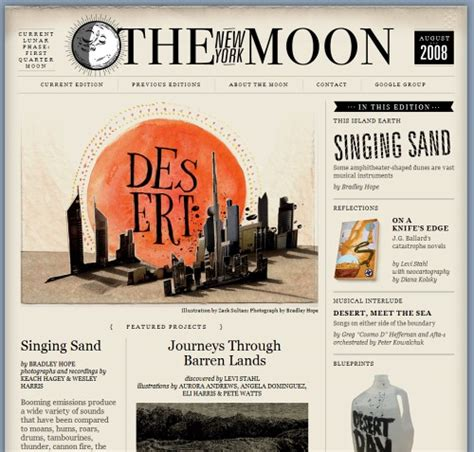 design magazine vintage retro and vintage in modern web design smashing magazine