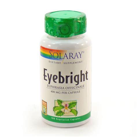 Vitamin Eye Bright Eyebright 430 Mg By Solaray 100 Capsules