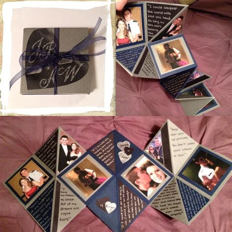 Handcrafted Photo Album - handmade s day gifts boyfriend