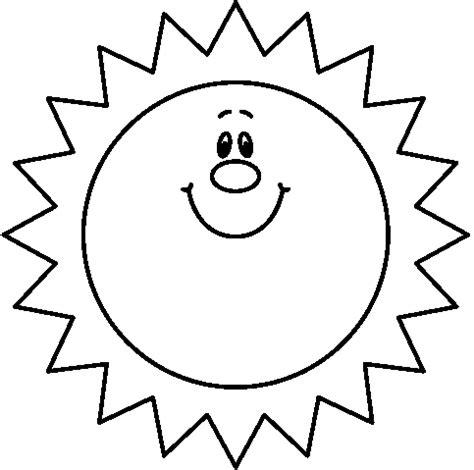 Sun Black Outline by Free Clip Sun Outline Clipart Best