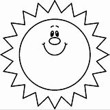 Happy Face Sun Black And White | 483 x 479 bmp 30kB