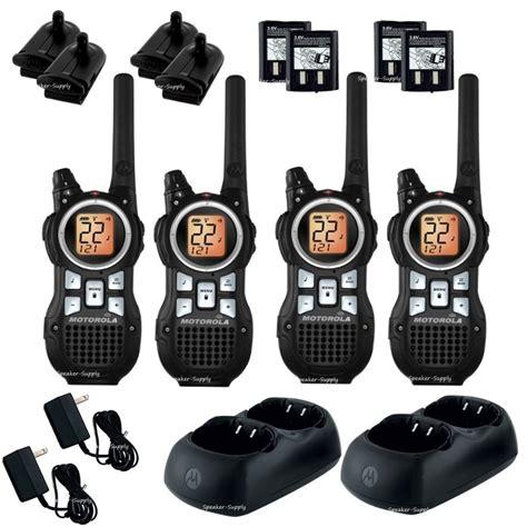 Walkie Talkie Motorola Mr350 motorola talkabout mr350r walkie talkie 4 pack set 35 mile