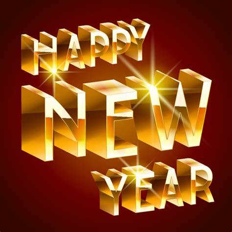new year golden week 2015 golden 2016 new year vector design vector festival free