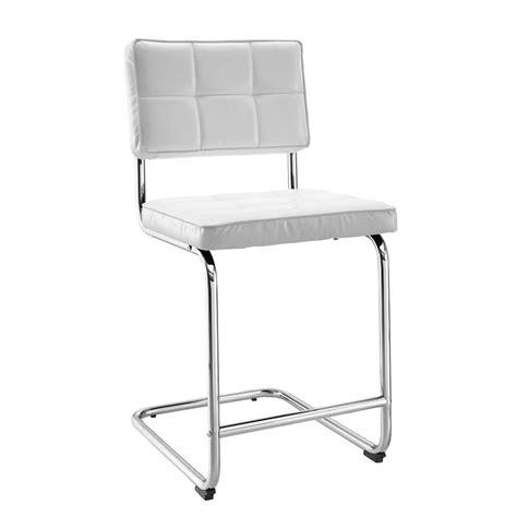 linon home decor bar stools linon home decor tufted breuer 24 in white cushioned bar