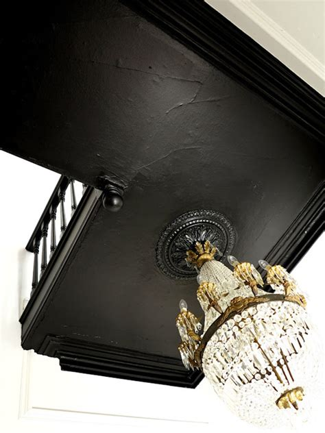 Farrow and Ball Pitch Black 256   Interiors By Color