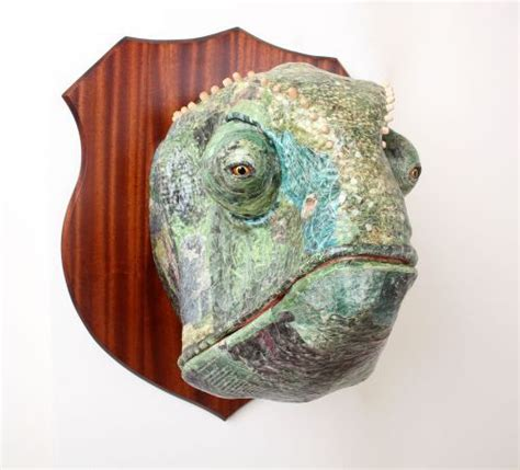 How To Make Large Paper Mache Animals - 1000 images about faux taxidermy on wall