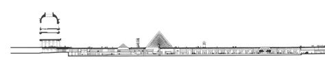 Louvre Museum Sections by Content Architects Works I M Pei Archsociety