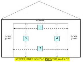 Garage Door Width 28 Standard Garage Door Sizes Standard Garage