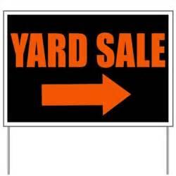 Delightful Wedding Yard Signs #4: Yard_sale_yard_sign.jpg?height=460