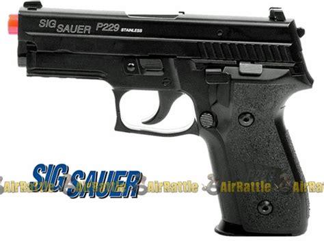 Airsoft Gun P229 28508 Metal Sig 229 Blowback Pistol Airsoft Gun