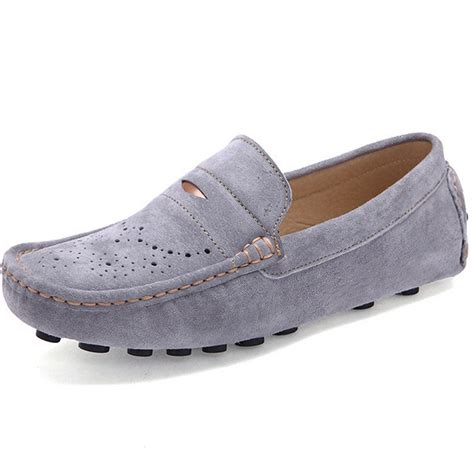 summer loafers mens summer breathable gommini mens loafers moccasins