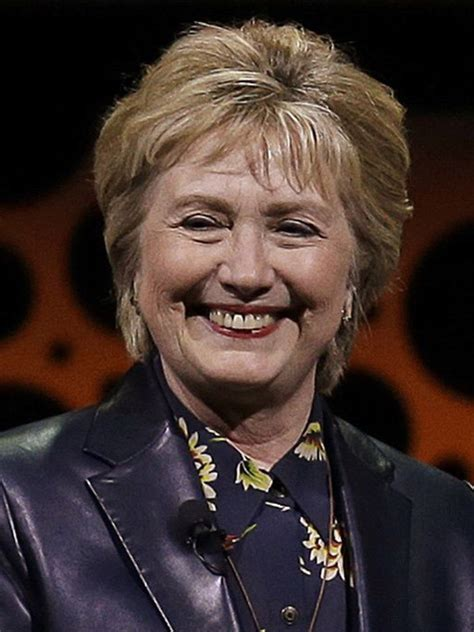 hillary clinton latest biography hillary clinton s new bob bangs hair makeover at
