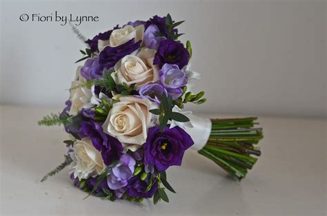Purple Flowers Wedding by Wedding Flowers March 2013