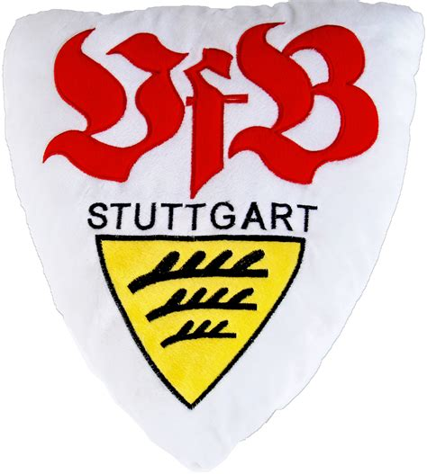stuttgart logo vfb stuttgart nicki kissen quot 3d logo quot