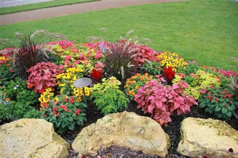 design annual flower bed flower bed designs photos