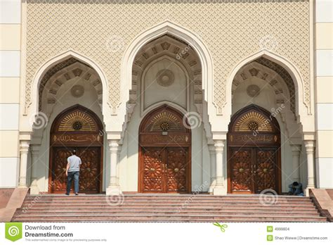 masjid door design modern mosque gate stock images image 4999804