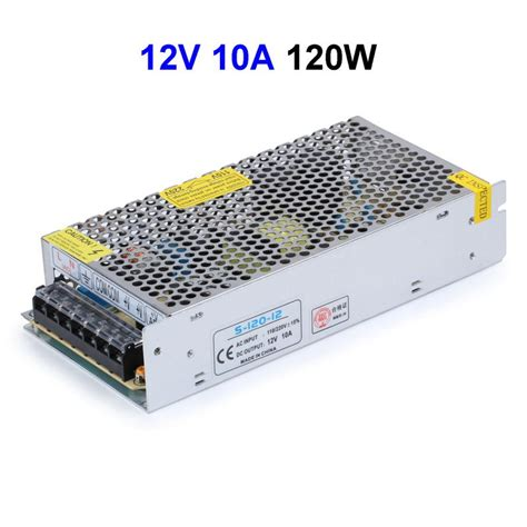 Power Supply 10 A Power Supply 10a Cctv 10pcs cctv cameras dc12v 10a 120w switching power supply adapter driver transformer for led