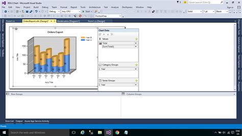 c windows form template foxlearn windows forms how to create a chart graph