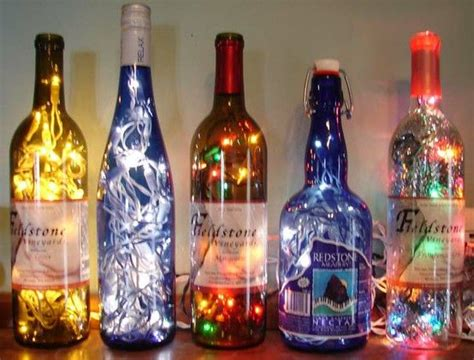 bottle lights glass bottles and bottle on pinterest