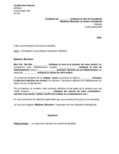Modèle De Lettre De Démission Education Nationale Exemple De Lettre De D 233 Mission Lyc 233 E Covering Letter Exle