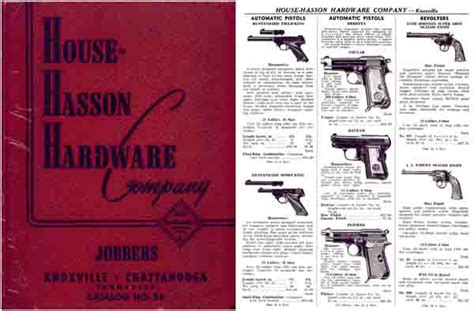 house hasson hardware co knoxville chattanooga 1954 gun