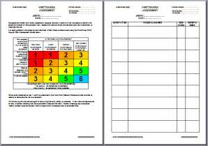 Risk Assessment Tool Template by Ohs Documents Australia Risk Assessments