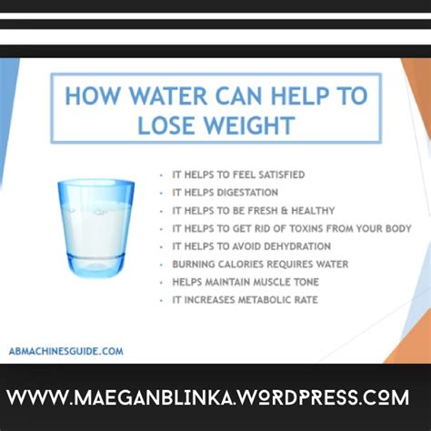 10 Ways How Water Helps You To Lose Weight by What Is Clean Maegan Blinka