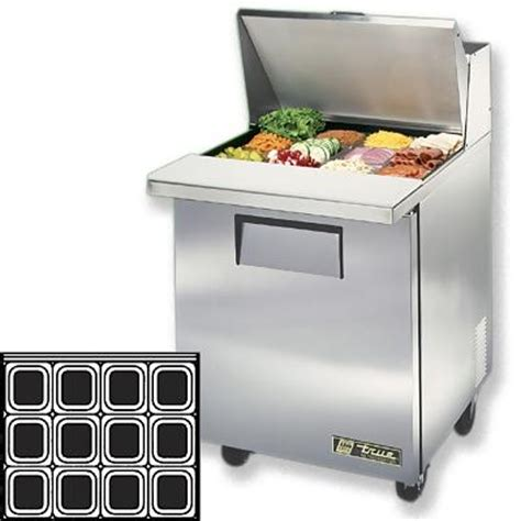 true tssu 27 12m c mega sandwich prep table one door