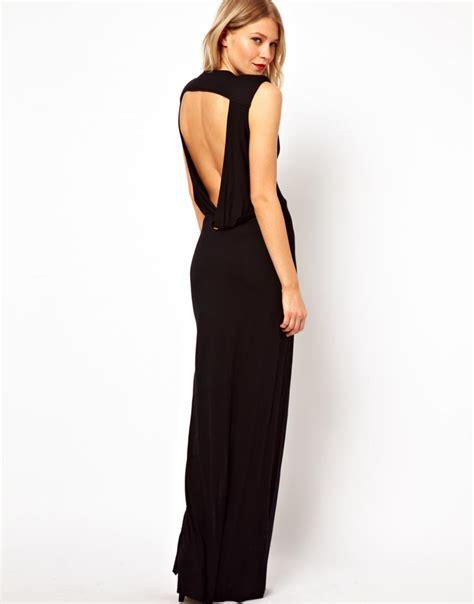 Robe De Bal Noir Longue - robe longue noir c est mon choix pour sortir le soir