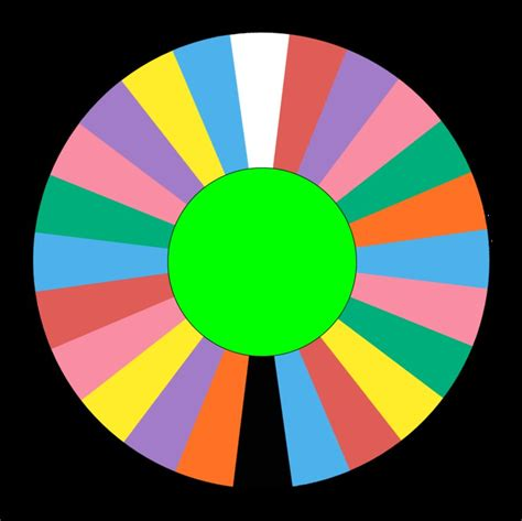 wheel of fortune template blank spinning wheel template clipart best