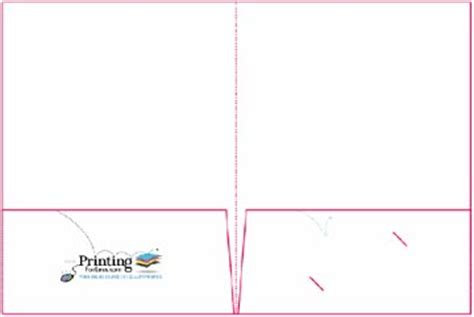 pocket folder template presentation folder design and layout templates