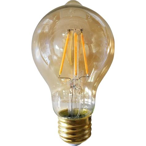 Meridian 40 Watt Equivalent Warm White A19 Dimmable Warm Led Light Bulbs