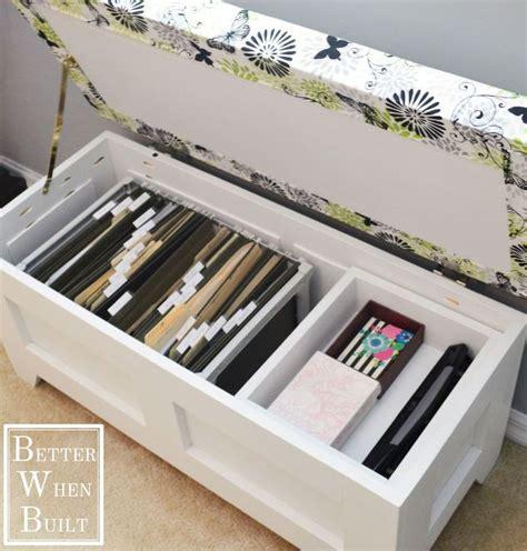 storage bench file cabinet new uses for benches genius storage benches