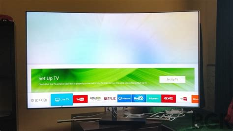 Tv Samsung Q8c samsung q8c curved qled tv 65 inch review behold