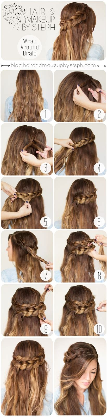 cute hairstyles how to braid hair tutorials 12 ways to braid your hair