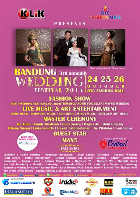 Bandung Wedding Festival by Bandung Wedding Festival 2014 Infobdg