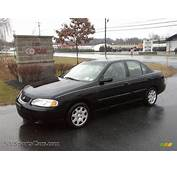 2001 Nissan Sentra XE In Blackout Black  418224