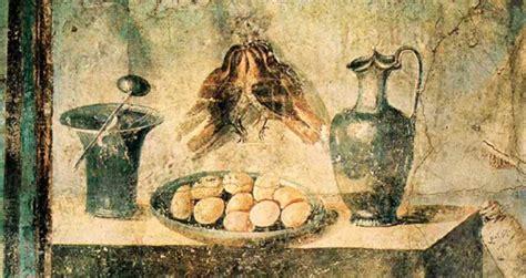 alimentazione degli antichi romani alimentazione dei romani cosa quando e dove mangiavano