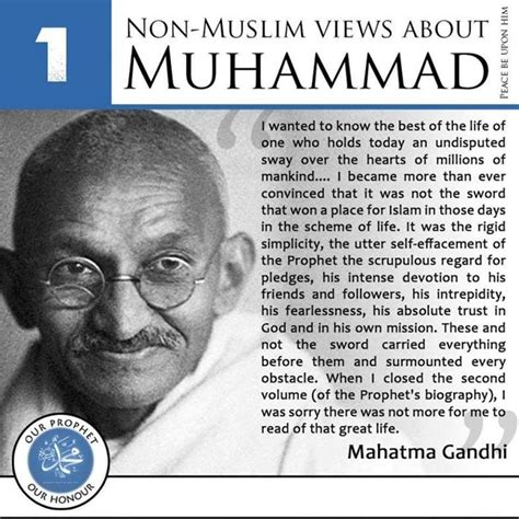 biography of muhammad the founder of islam the holy prophet muhammad mahatma gandi1 pass the