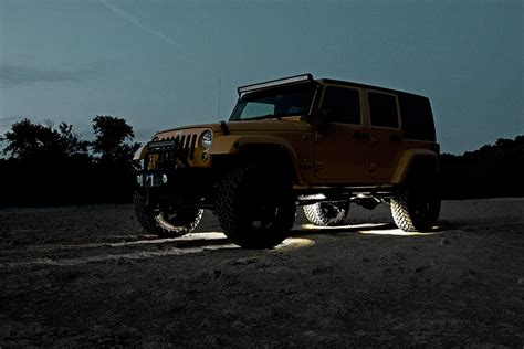 Rock Lights Jeep Universal Led Rock Light Kit Country Suspension