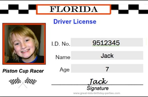 drivers license template free pin free drivers license template for on