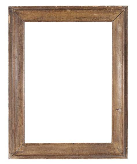 cornice di legno cornice rustica in legno naturale xix secolo cornici