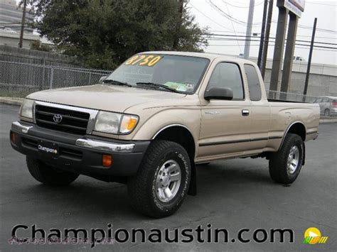 2000 Toyota Tacoma Prerunner 2000 Toyota Tacoma Prerunner Extended Cab In Beige