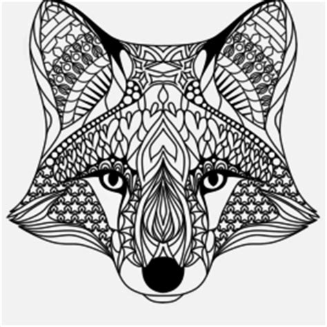 coloring pages for adults fox coloring page fox drawing and coloring pages marisa