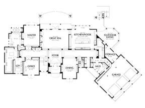 Floor Plans For Luxury Homes by House Plans Luxury House Plans