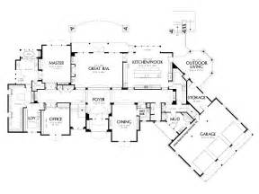 Home Floor Designs by Luxury House Plans