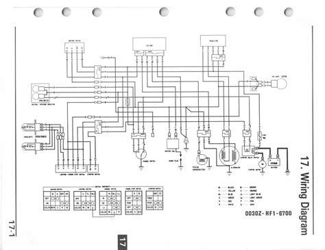 Honda Fourtrax 300 Electrical Diagram honda fourtrax 300 wiring diagram kiosystems me
